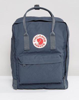 sac à dos gris bleu fjallraven kanken