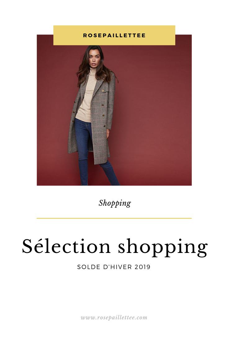 Sélection shopping solde d'hiver 2019