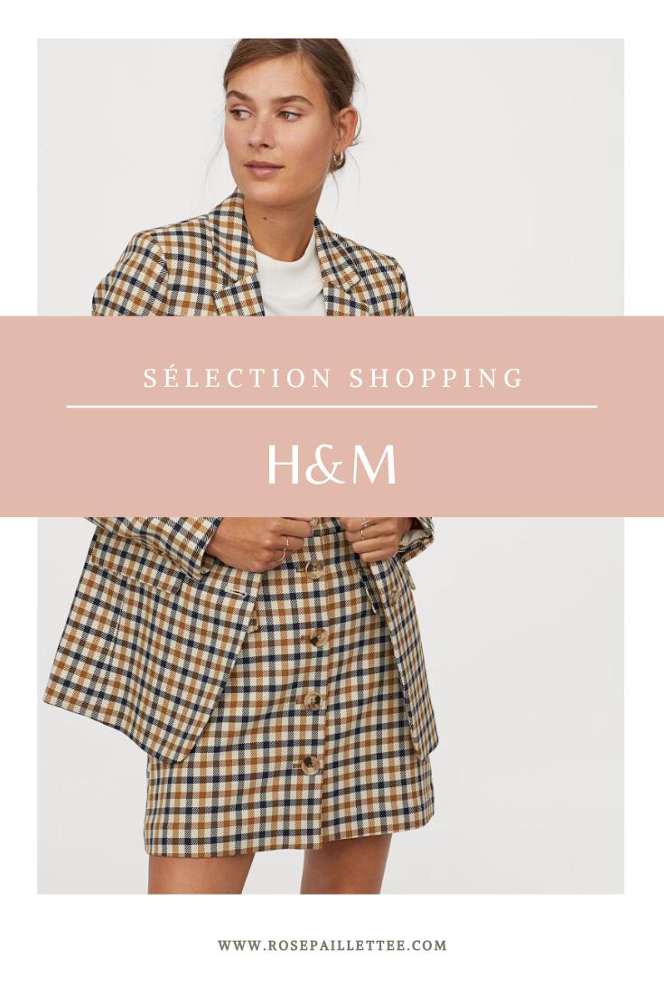 Sélection shopping H&M