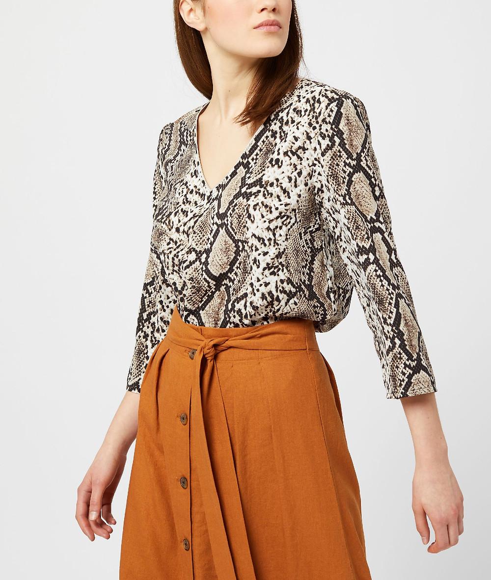 blouse python etam