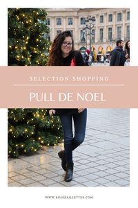 Sélection shopping pull de Noël