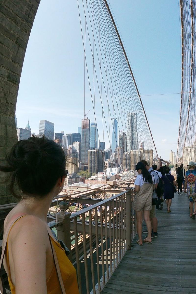 Brooklyn Bridge et DUMBO Brooklyn