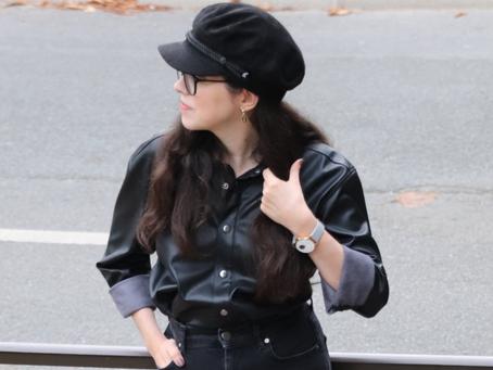 Comment porter la chemise en simili cuir ? | OOTD
