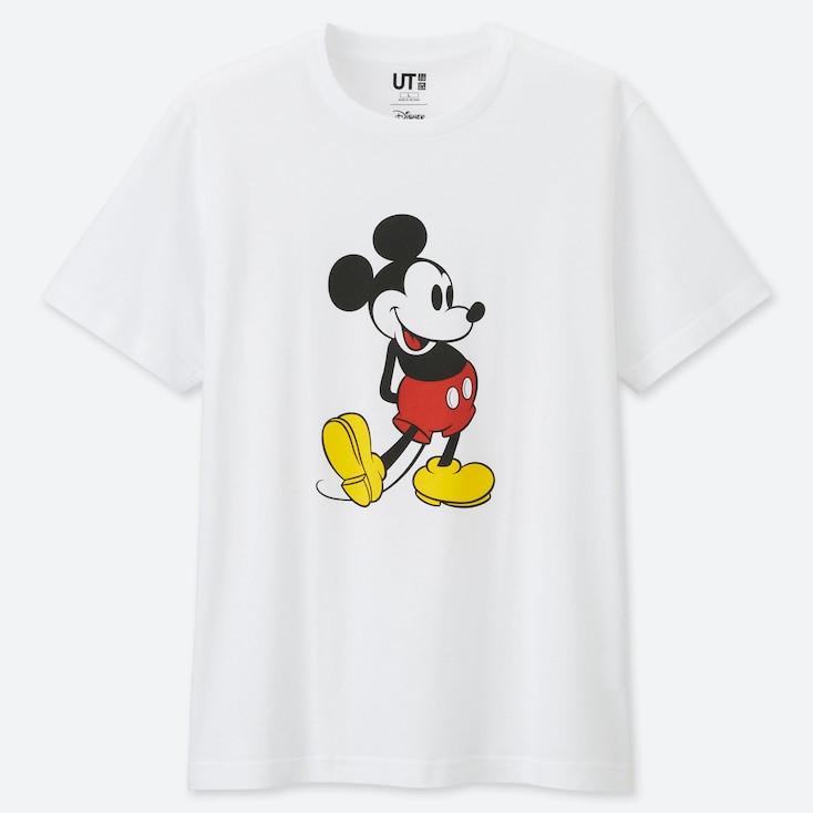 T-shirt blanc mickey de chez Uniqlo