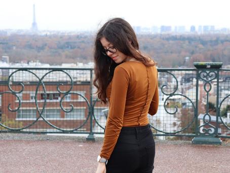 Un body sexy pour la fin de l'automne | OOTD