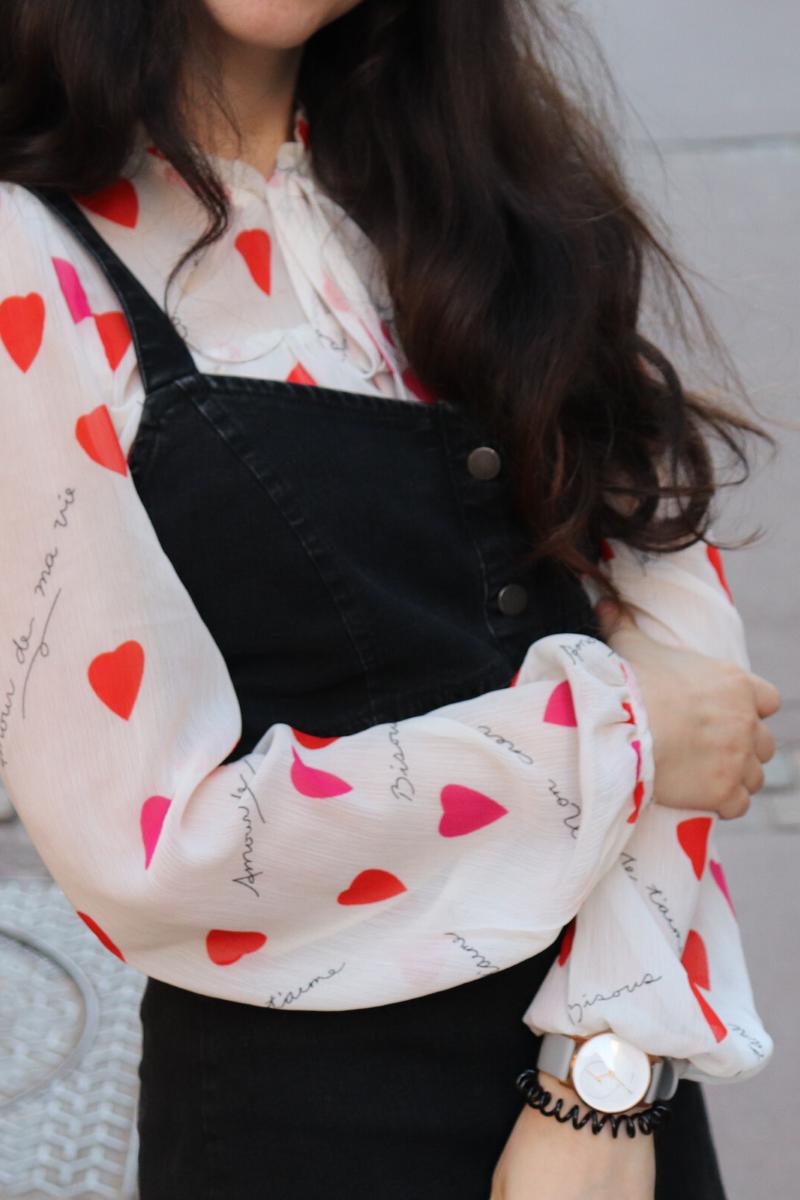 Tenue romantique pour la saint-valentin