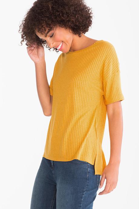 t-shirt cotelet c&a
