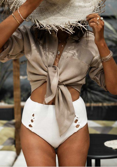 Photo du maillot Isabella en collaboration avec junesixtyfive de chez luz