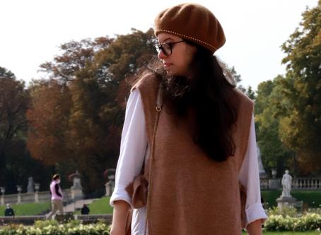 Comment porter le pull sans manche ? | OOTD