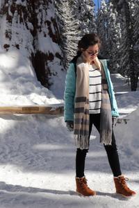 photo de la tenue de rosepaillettee porté à séquoia