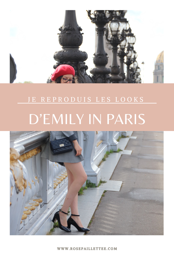 Je reproduis les looks d'emily in paris