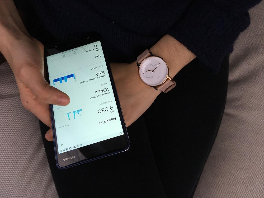 Fitbit alta vs Nokia steel