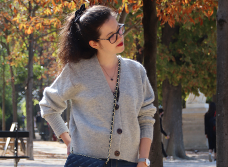 Le gilet oversize pour un look cocooning | OOTD