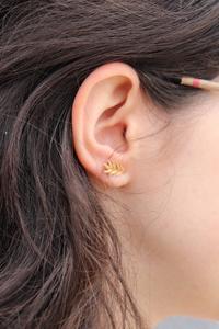 boucle d'oreille épis de blé