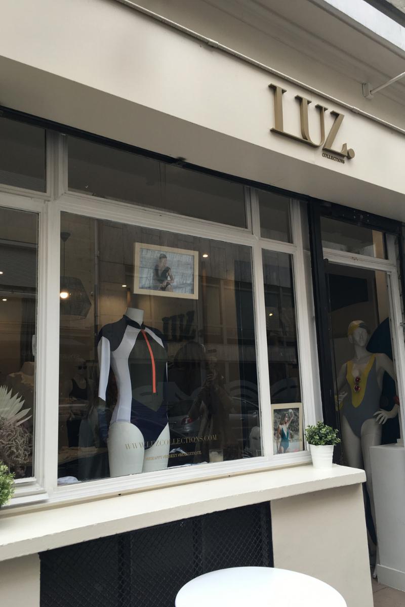 photo de la devanture de la boutique Luz à paris 5 rue ponsard dans le 16 ème arrondissement