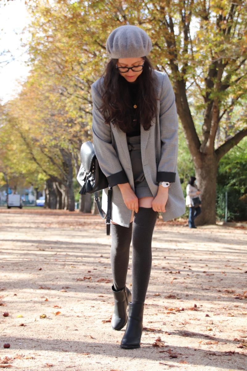 Comment porter la chaussette haute