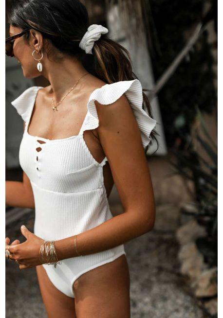 Photo du maillot Gioia en collaboration avec Junesixtyfive de chez luz