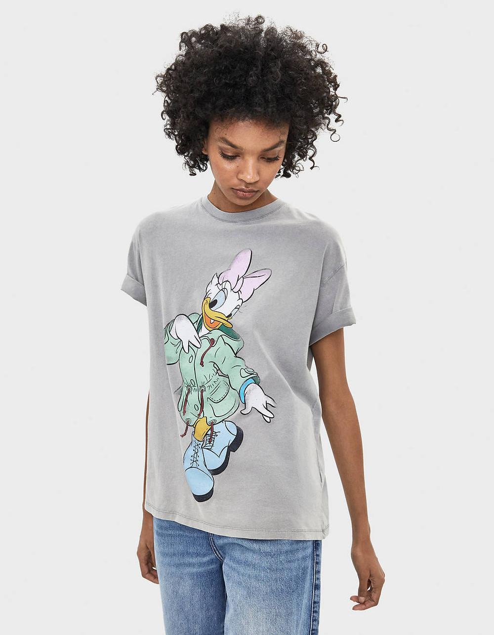 T-shirt daisy Bershka