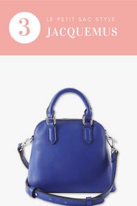 3 articles tendance pour lesquels je ne craquerai pas : petit sac style jacquemus