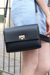 photo du sac #bestdeal noir de chez C&A