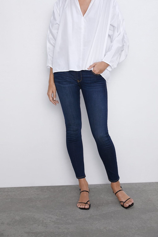 Skinny bleu Zara