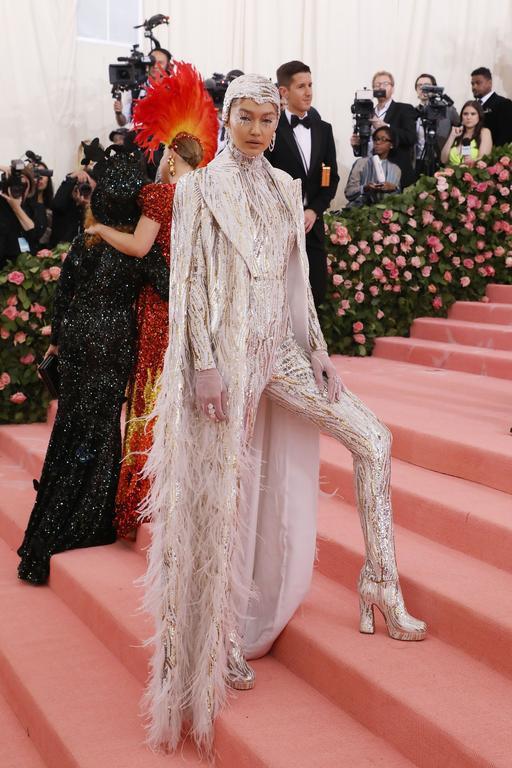 Gigi Hadid en Michael Kors Collection au met gala 2019