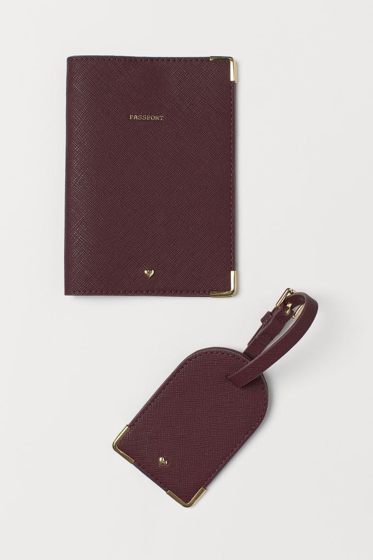 porte passeport et etui