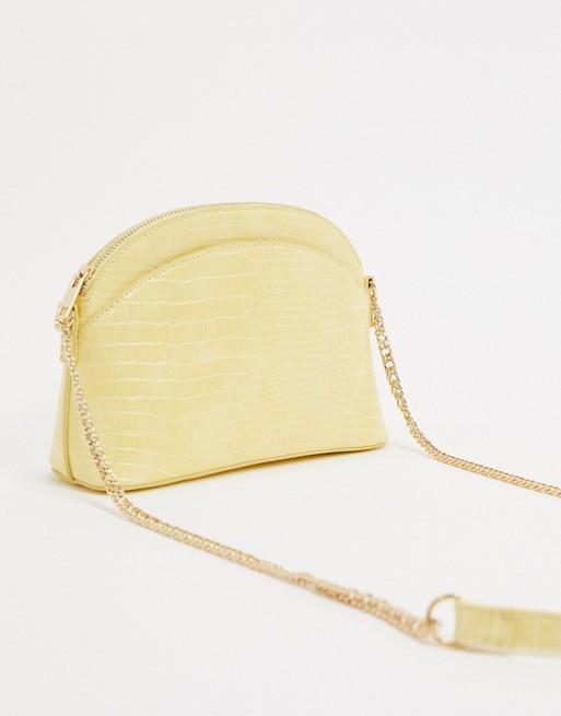 sac à main jaune Pimkie