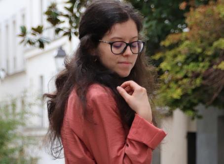 Un blazer vieux rose pour être au top | OOTD