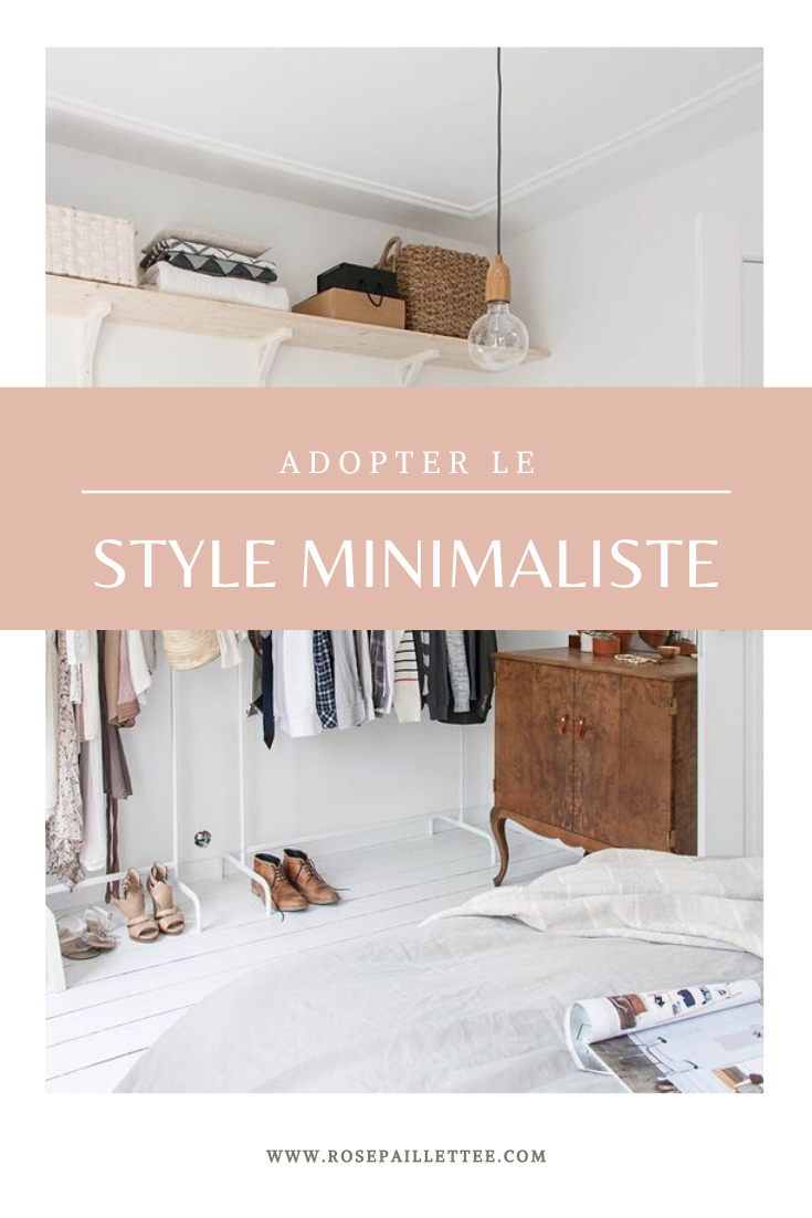 adopter le style minimaliste