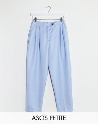 Pantalon à pince bleu layette ASOS