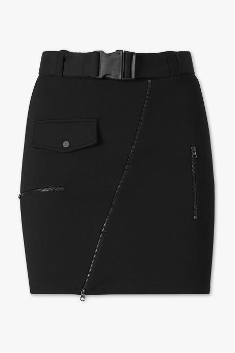 jupe noir esprit cargo C&A