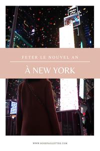 Fêter le nouvel an à New York