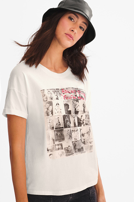 T-shirt Rolling stone C&A
