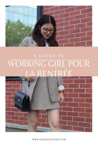 6 looks de working girl pour la rentrée