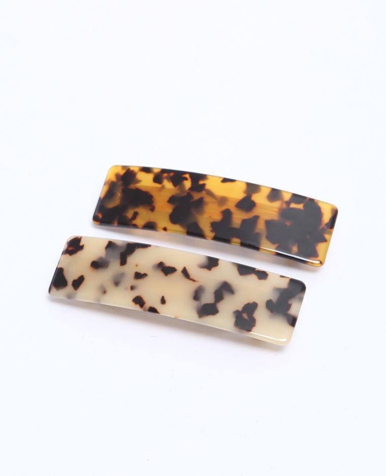 barrettes léopard pimkie