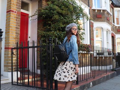 Une robe léopard pour un look de parisienne   OOTD