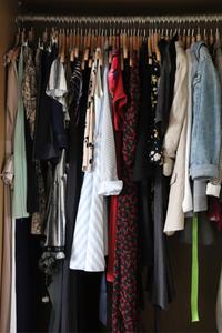 Organisation de mon dressing