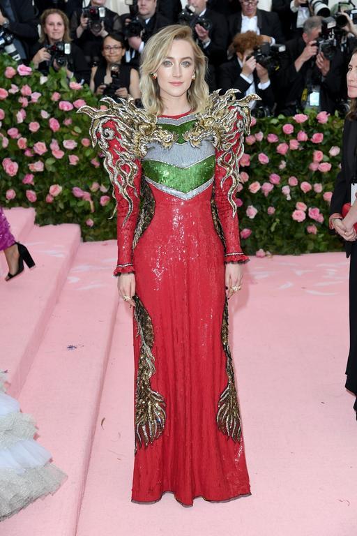 Saoirse Ronan en Gucci au met gala 2019