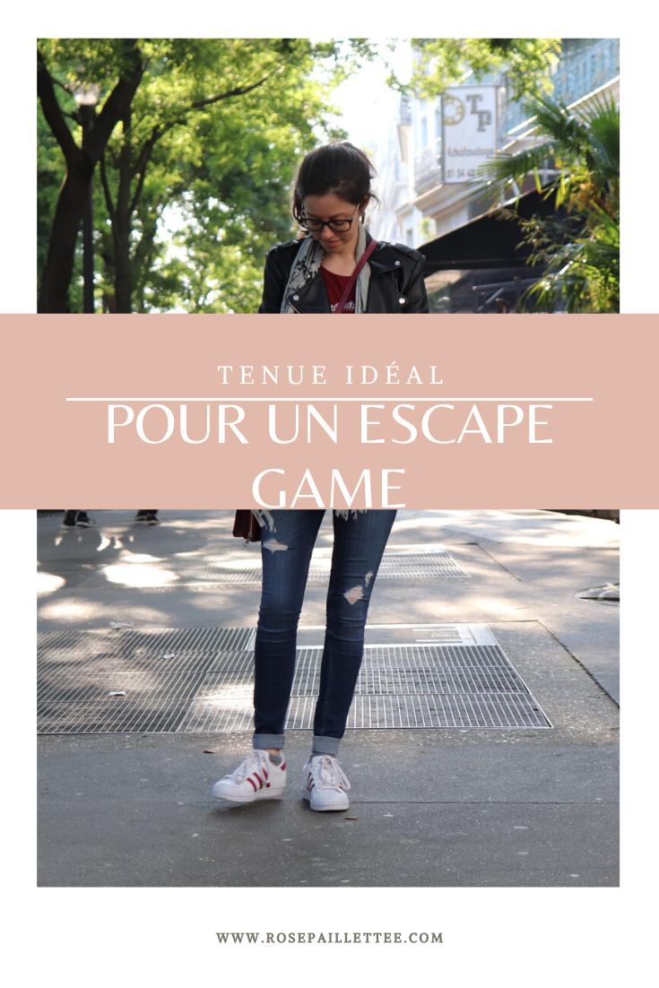 Tenue idéal pour un escape game