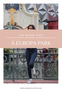 Un week-end à Europa park