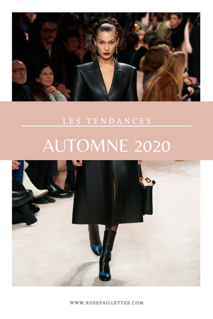 Les tendances de l'automne 2020
