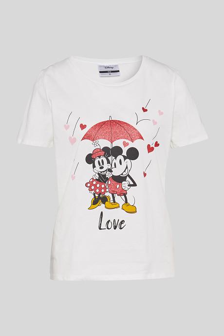T-shirt mickey et minnie C&A