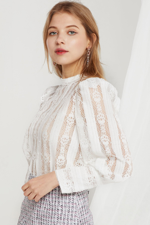 blouse crochet storets