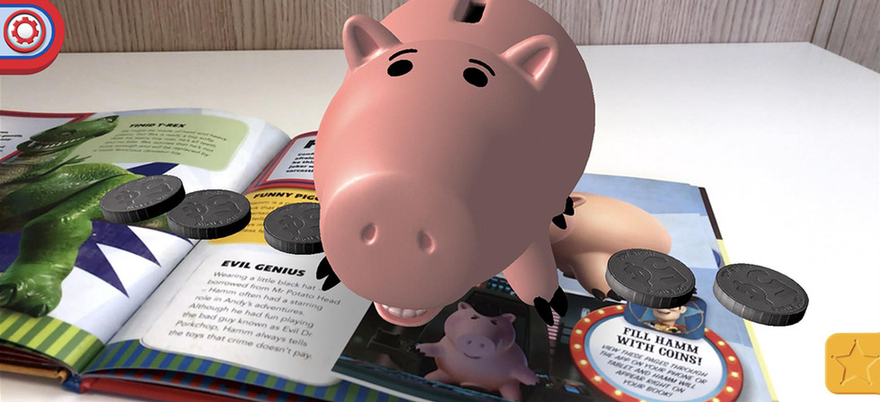 Toy Story: Book with AR