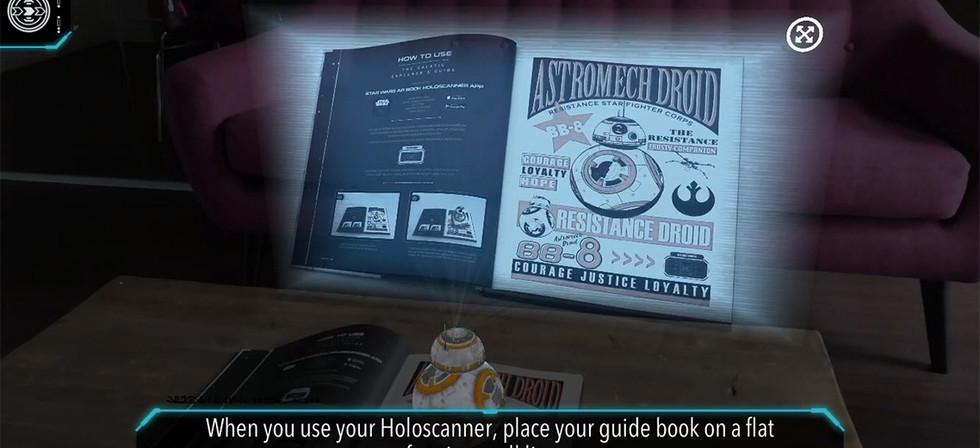 Star Wars: AR Book Holoscanner