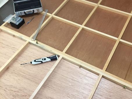 日本画制作過程:割パネ(工具紹介)