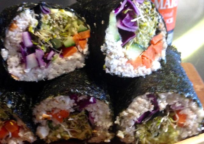 recipe - cauliflower sushi