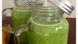 recipe - today's green smoothie