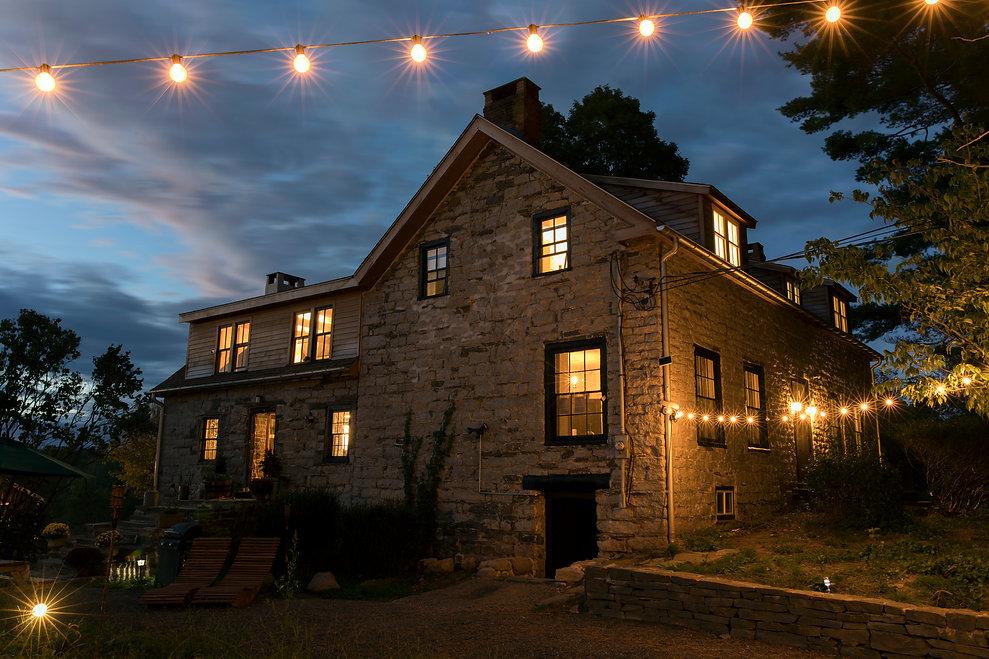 Stoneshouse, stones, night, light, location